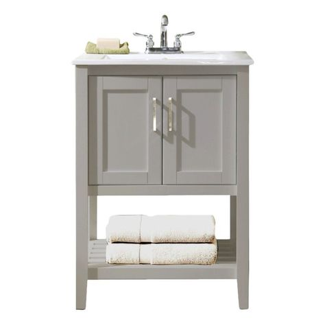 "VANITY SIZE/MASTER BATH  $295 Wayfair. Legion Furniture 24"" Single Bathroom Vanity Set"