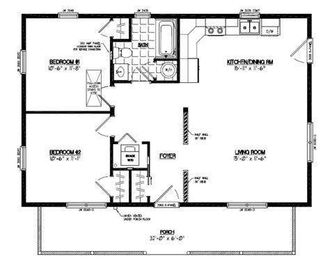 24x36 Pole Barn House Plans 24x36 Musketeer Certified Floor Plan 24mk1502 Custom Pole Barn Homes Pole Barn House Plans Floor Plans