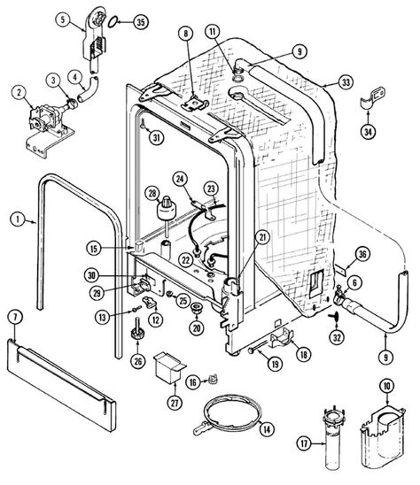 Wiring Diagram For Maytag Refrigerator