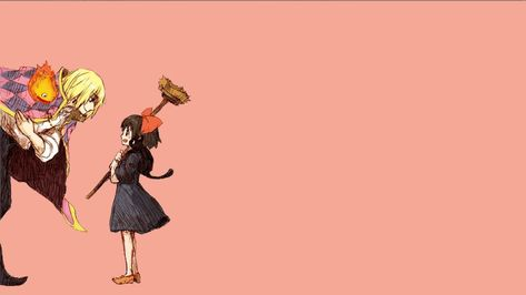 1920x1080px   free download   HD wallpaper: black haired female anime character, Studio Ghibli, Howl, Kiki's Delivery Service