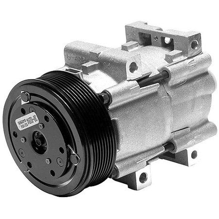 Denso New - with Clutch A/C Compressor 471-8124