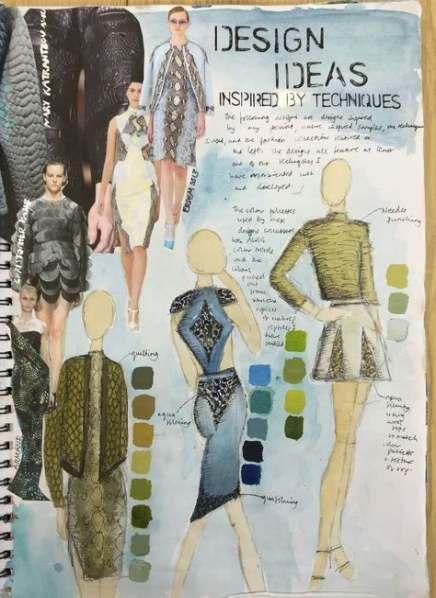 Super fashion design sketchbook gcse 67 Ideas