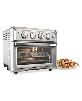 Cuisinart Toa 60 Air Fryer Toaster Oven Reviews Small Appliances Kitchen Macy S Toaster Oven Toaster Oven