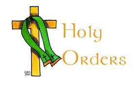 Image result for holy orders symbols | Sacrament of holy orders, Catholic teaching, Seven sacraments
