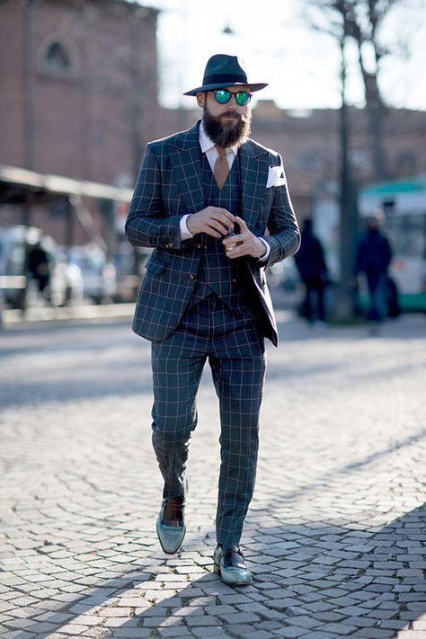 「ウィンドペン スーツ ストリートスナップ」の画像検索結果