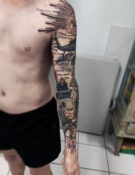 Top 91 Army Tattoos For Men Ideas 2020 Inspiration Guide Army Tattoos Military Sleeve Tattoo Tattoos For Guys