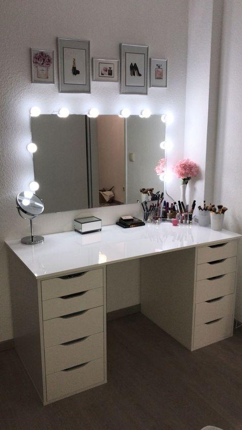 Fonkelnieuw Hoek # Make-up # Kaptafel Kaptafel / make-up hoek in 2020 ZU-73
