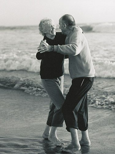 I love old couples , they are the proof of true love