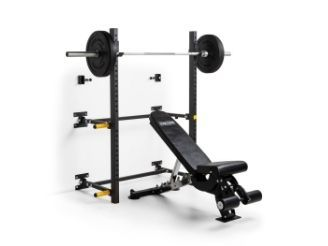 Again Faster Team Wall Mounted Folding Squat Rack トレーニング