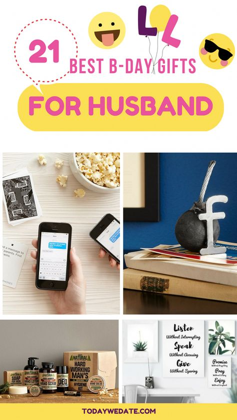 21 Thoughtful And Outside Of The Box Birthday Gift Ideas For Your Hubby