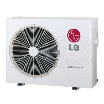 Lg Lmu24chv 24k Btu Outdoor Condenser For 2 3 Zones Heat Pump Air Conditioner Heat Pump Air Conditioner Condenser