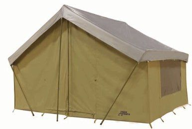 Canvas Ridge Tent Brown | Dekorasi