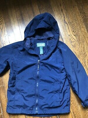 Boys/' Lightweight Water-Resistant Zipper Hooded Windbreaker Jacket Coat Outwear