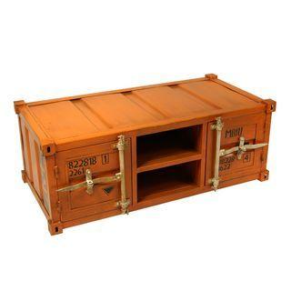 Couchtisch Container Orange Couchtisch Container Und Tisch