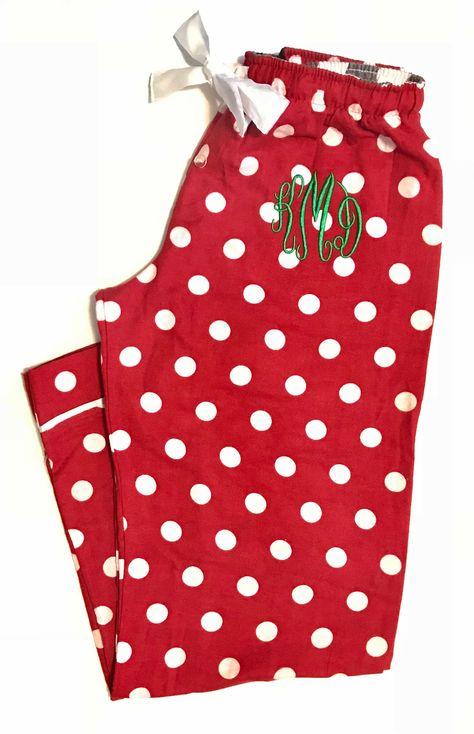 4869b731526022 Monogram Pajama Pants