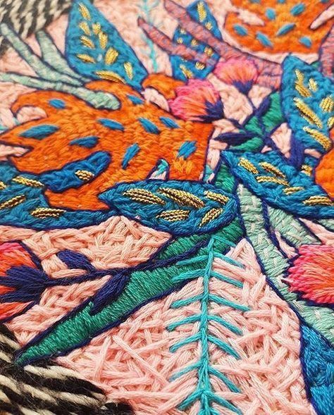 Nurge embroiery cross stitch Hanging Display Hoop Anneau en lisse Hêtre