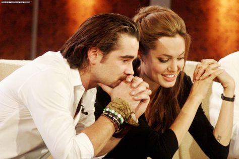 Angelina Jolie and Colin Farrell   Angelina jolie