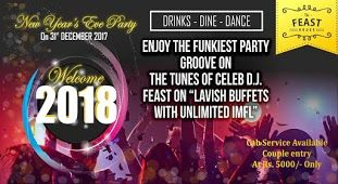 New Year S Eve Party By The Feast House New Years Party Party Party Tickets