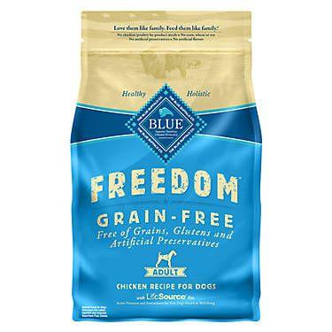 Blue Buffalo Freedom Grain Free Adult Dog Food Chicken
