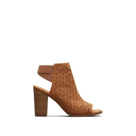 4ccd3415798a Reaction Kenneth Cole Kay Fly Laser-Cut Stacked Heel - Women s