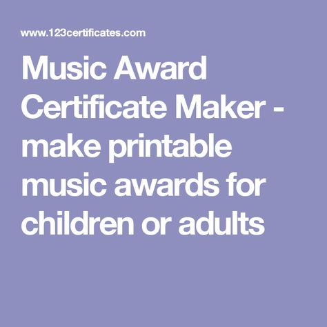 list of pinterest certificates award for adults pictures pinterest