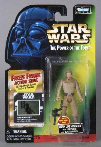 Star Wars POTF Freeze Frame Bespin Luke Skywalker