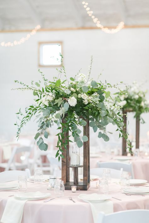 Rustic Elegant Spring Wedding at Willow Brooke Barn — Rose Of Sharon Floral Design Studio Lavender Wedding Centerpieces, Spring Wedding Decorations, Wedding Reception Flowers, Rustic Wedding Flowers, Rustic Wedding Centerpieces, Contemporary Wedding Flowers, White Floral Centerpieces, Diy Centerpieces, Wedding Ideas