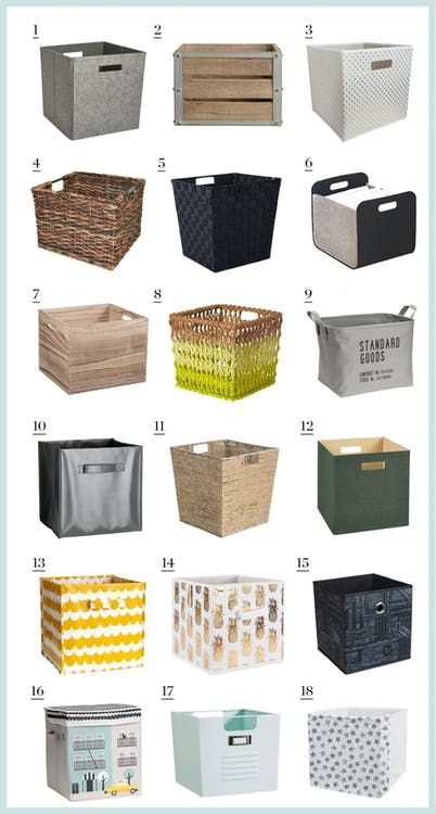 The Best Place To Buy Kallax Storage Cubes Isn T Ikea Kallax Ikea Ikea Storage Cubes Ikea Toy Storage