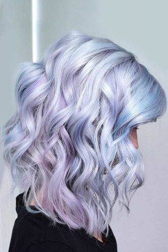 35 Tips Illuminant Shades To Rock Magical Holographic Hair