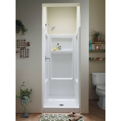 Shop Sterling Advantage 32 In X 34 In White Vikrell Alcove Shower