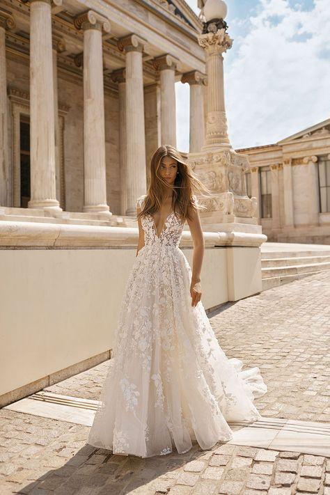 Courtesy of Berta Wedding Dresses Athens Collection. www.berta.com