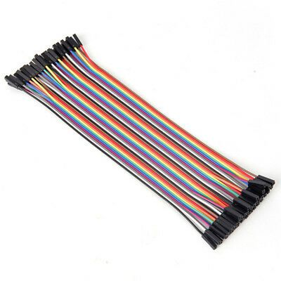 Details About 10cm 2 54mm Female To Female Wire Jumper Cable For Arduino Breadboarhfjh In 2020 Arduino Jumper Cables Power Plug