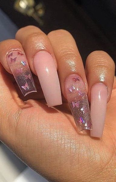 Top 40 Coffin Nails Ideas For This Summer 2019 Page 9 Of 40