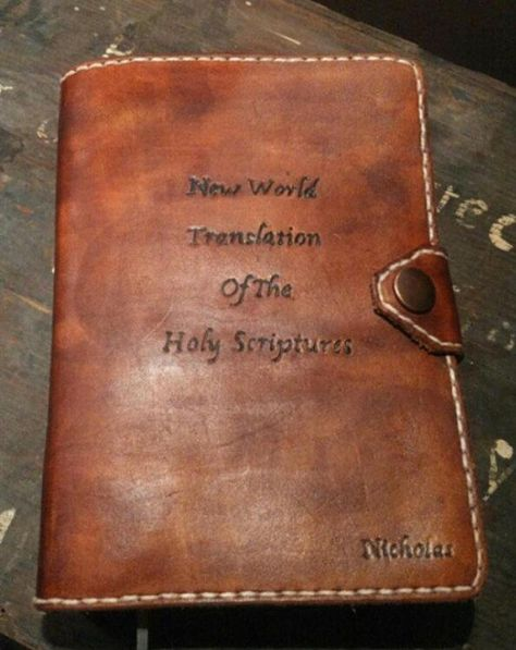 List of Pinterest new worlds translation bible cover leather images