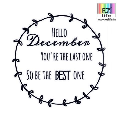 lastmonthoftheyear Make it a December to...