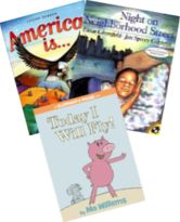 Common Core State Standards Kindergarten Extension - Booksource  Includes sets of approximately 12 fiction and 12 informational texts for each of the common core units