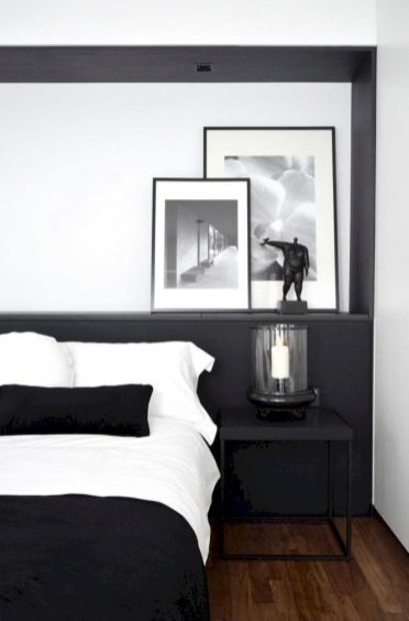 48 Modern Tiny Bedroom With Black And White Designs Ideas For Small Spaces Roundecor Bedroom Interior Remodel Bedroom Home Decor Bedroom