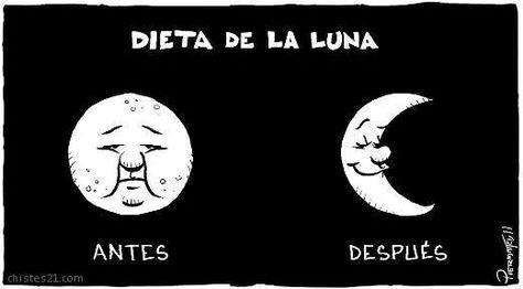 la dieta de la luna chiste