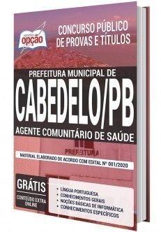 Apostila Concurso Prefeitura De Cabedelo Pb Agente Comunitario