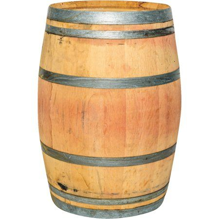 Authentic Whole Oak Wine Barrel Repurposed With Images Wine Barrel Real Wood Whiskey Barrel