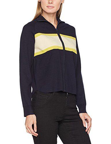 Marc O Polo Damen Strickjacke 708518361075 Blau Autumn Navy 887 X Large Jackets Fashion Athletic