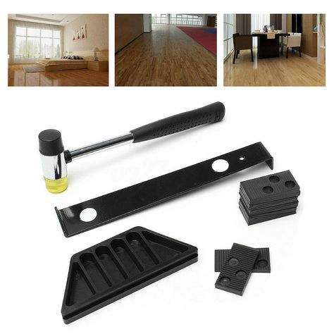 Details About Wooden Floor Laminate Installation Kit Set Wood