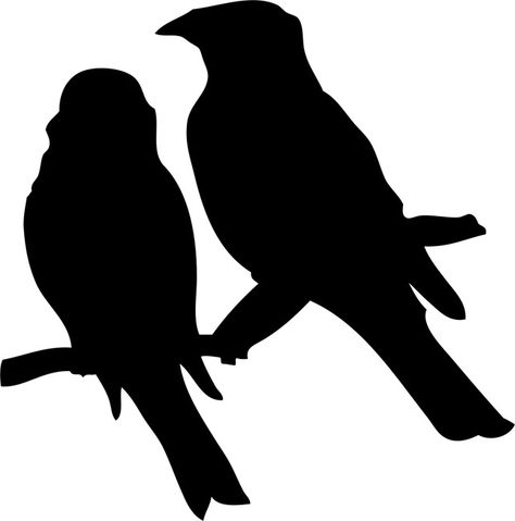 DIY Decorative Bird Stencil Template for Painting on Walls Furniture Crafts A2 Size