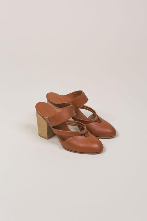 Amy Heeled Sandal by A Détacher @ Kick Pleat | Style | Shoes