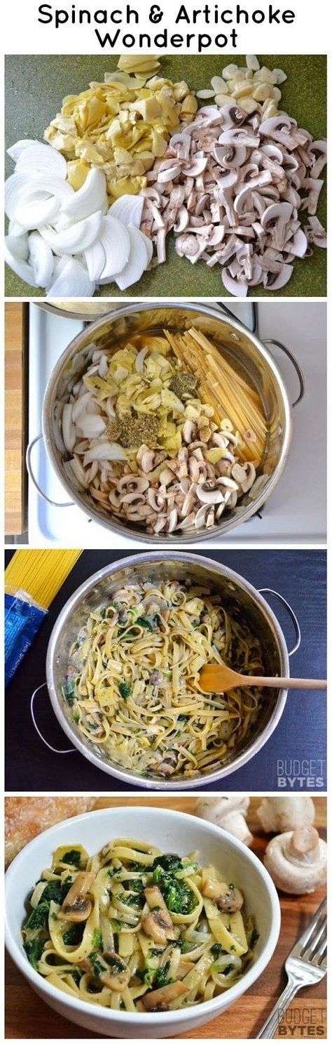Thumbs down!! Spinach and Artichoke Wonderpot - 21 Simple One-Pot Pastas