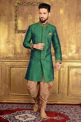 Ebay Link Wedding Traditional Designer Mens Sherwani Kurta Free