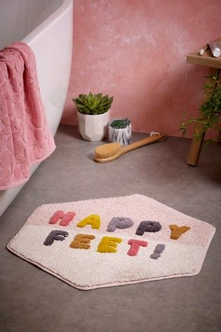 Happy Feet Bath Mat With Images Bath Mat Foot Bath Happy Feet