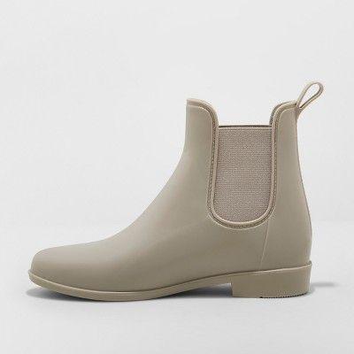 Women's Chelsea Wide Width Rain Boots