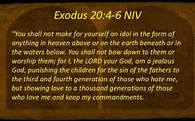Exodus 20 4 6 Kjv Thou Shalt Not Make Unto Thee Any Graven Image Or Any Likeness Of Any Thing That Is In Heaven Above Or That I Exodus 20 4 Exodus Jealous