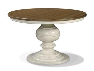Round Dining Table By Universal Furniture Furnitureland South The World S Largest Furniture Store Pedestal Kitchen Table Round Pedestal Dining Round Dining